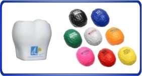 Balle anti stress personnalisé, balles anti stress relier au partie du corps, article promotionnel économique