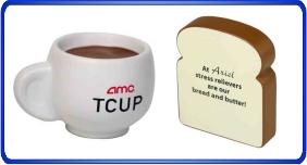 Balle anti stress personnalisé, balles anti stress relier au nourriture et boisson, article promotionnel économique