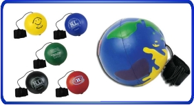 Balle anti stress personnalisé, Balles anti stress yo-yo, article promotionnel économique